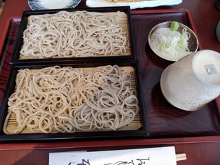 蕎や本田 - せいろもりは二段になってます