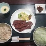 杜の都 太助 - 牛タン塩定食