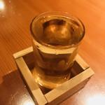 勇夢路 - 日本酒も何種類かありました