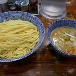 つけ麺 大臣 - 鶏白湯つけ麺特盛800円