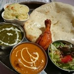 グリーン インディア - レディスセット(ナンはチーズナンに変更)