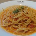 イタリアン・トマト カフェジュニア - モッツァレラチーズとトマトクリームのパスタ