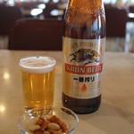 マルカンビル大食堂 - 料理写真:瓶ビール大(580円)