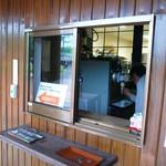 ほわいとファーム - ソフトクリーム販売窓口