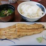 万両 - 『白焼定食』3,240円