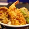 Nihombashitendonkanekohannosuke - 料理写真:天丼 横から