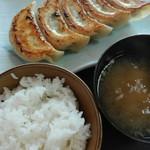 85403946 - 餃子定食