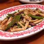 トラットリア ピッコラシチリア - ホタルイカとえんどう豆のパスタ