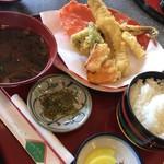 つくだ煮街道 - あなご天ぷら定食