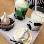 マザー牧場カフェアンドソフトクリーム - 料理写真:
