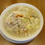 桶狭間タンメン - 料理写真:野菜増し桶タン