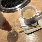 ビラ・リストランテ GAJA - デザートはコーヒーと決めている
