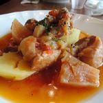 85406183 - ボーノポークバラ肉と山田さん根菜のプレゼ