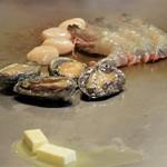 神戸アントレコット - 魚介類焼き