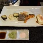 神戸アントレコット - 焼豆腐&焼き野菜