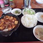 福来順 - 料理写真:ランチ麻婆豆腐700円