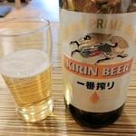 割烹 みや古 - 瓶ビール