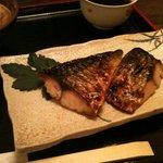 花いちりん - ある日の日替わり定食(鯖塩焼)