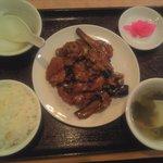 8541617 - 豚肉とナス炒め