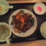 Misenrou - 牛肉のオイスターソース炒め