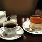 カフェ・トロワバグ - トップフォト ハイブレンド カスタードプリン