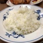 中華料理 五十番 - ライスはとにかく少なめなのです。