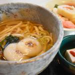 醐山料理 雨月茶屋 - 料理写真:五大力うどん