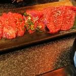 食彩和牛しげ吉 - ランチセットの赤身