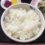 餃子の王将 - ご飯