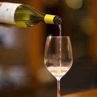 お食事とワインを楽しみたい方へ!ペアリングコースもございます