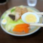 ビーフン東 - うずらの卵