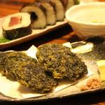 85416458 - あおさの天ぷら(560円)