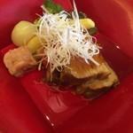 京料理 三門 - 角煮