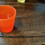 たちばなや食堂 - なつかしのプラスチックコップ