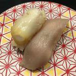 もり一 - 「つぶ貝&みる貝」150円