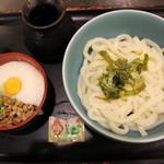 讃岐うどんの 七宝亭 - 粘力うどん小(680円)