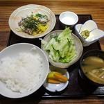 85419264 - ランチ:海鮮五色納豆定食