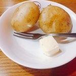 85420084 - ポテトとバター