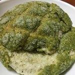 モグモグベーカリー - 料理写真:抹茶メロンパン