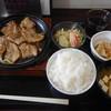 まる太食堂 - 料理写真:三元豚のにんにくレモン醤油焼き定食¥750-