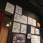 イタリアン肉バル 29DOME - イタリアン肉バル 29DOME 水道橋駅(東京都千代田区三崎町)有名人のサイン