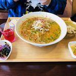 sakankissako - 担々麺膳 ¥1,620(大盛 +¥100)