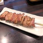 環七ラーメン 周麺 - 豚カルビ大串