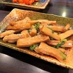 環七ラーメン 周麺 - 山盛りメンマ