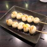 環七ラーメン 周麺 - ウズラ串
