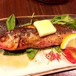 沖縄料理 金魚 hanare - ぐるくんバター焼き