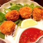 沖縄料理 金魚 hanare - タコスボールフライ