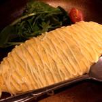 沖縄料理 金魚 hanare - 海老タコスオムレツ