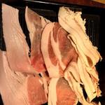 沖縄料理 金魚 hanare - あぐー豚しゃぶしゃぶ