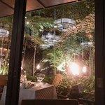 ザ・カワブン・ナゴヤ - 窓の外には日本庭園